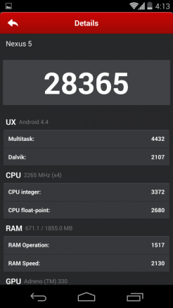 Google Nexus 5 - AnTuTu - 2