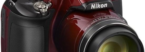 Cinci noi camere digitale Nikon