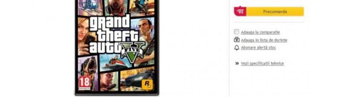 GTA 5 vine anul viitor pe PC