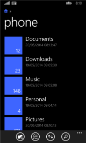 Windows Phone 8.1 Files (Manager) - 2