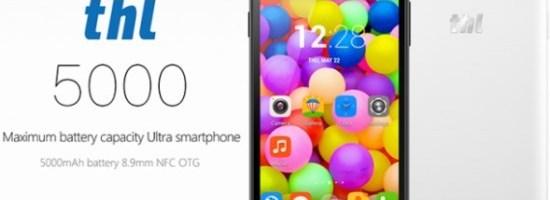 THL are un smartphone cu baterie de 5000 mAh