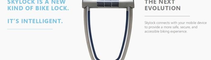 Skylock: antifurt inteligent pentru biciclete