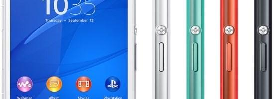 Sony prezinta Xperia Z3 Compact
