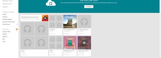 Google Play Music a crescut limita de melodii