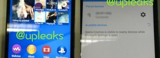 Imagini neoficiale cu Sony Xperia Cosmos