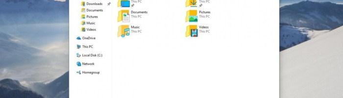 Nou build Windows 10 scapat pe internet