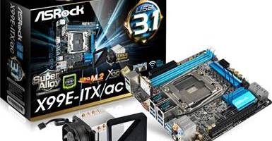ASRock are prima placa de baza mini-ITX cu chipset X99