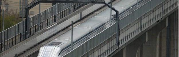 Un tren japonez a atins un nou record viteza de 603 Km/h