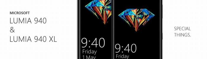 Lumia 940 si Lumia 940 XL – imagini-concept