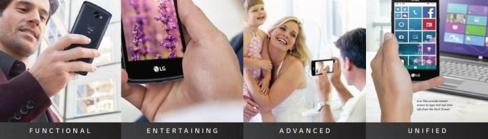 LG Lancet-smartphone cu Windows