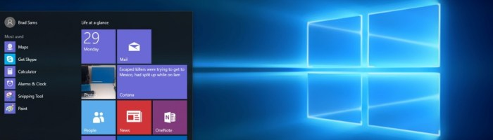 Windows 10 build 10158: mult mai finisat si mai aproape de lansare