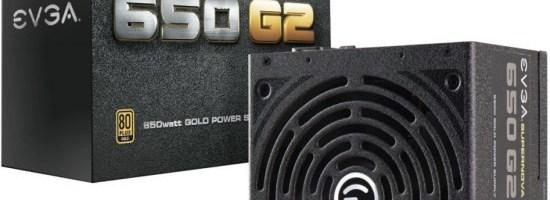 eVGA a anuntat sursele SuperNova 650 G2 si 550 G2