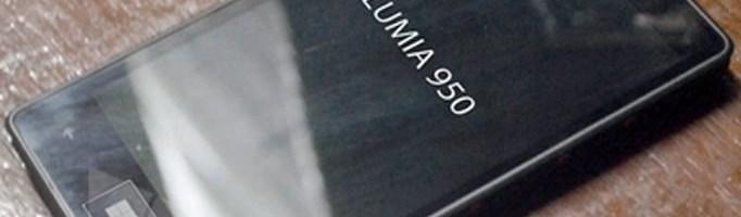 Microsoft Lumia 950 si 950XL apar in noi imagini
