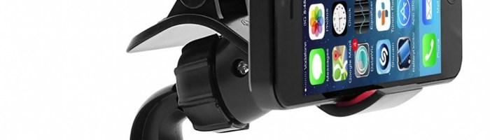 Doua suporturi auto bune pentru telefonul mobil, de la Vetter