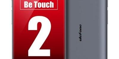 Ulefone BeTouch 2 – smartphone cu ecran 2.5D Arc Screen
