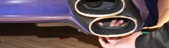Guri de esapament false care strica aspectul masinilor sport