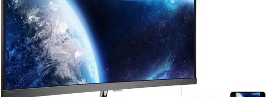 Philips BDM3490UC - un monitor curbat