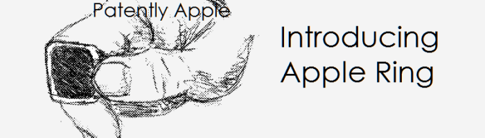 Inele inteligente de la Apple?
