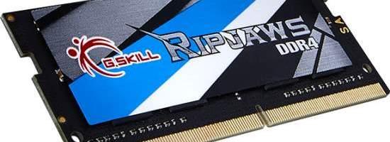 G.Skill extinge Ripjaws la SO-DIMM-uri DDR4