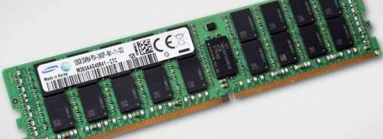 Samsung are memorii RAM DDR4 de 128 GB