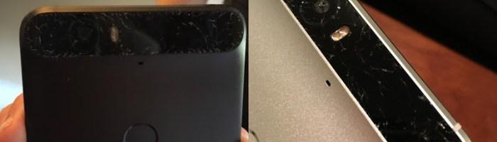 Nexus 6P are probleme cu sticla de pe camera