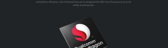 Qualcomm a anuntat oficial procesorul Snapdragon 820