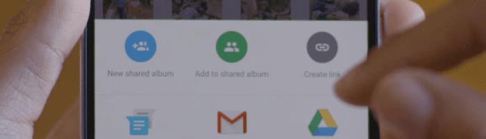 Google Photos iti permite sa impartasesti albumele mai simplu