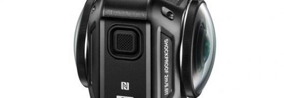 CES 2016 – Primul action-cam Nikon, KeyMission 360