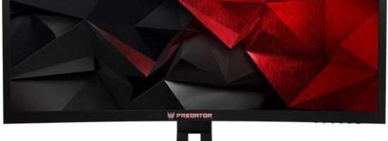 Acer Z35, monitor din gama Predator