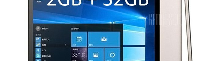 Onda V919 – tableta cu Windows 10 si Android la pret accesibil