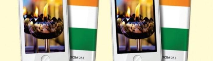 Freedom 251 este un smartphone ce costa doar 4 dolari