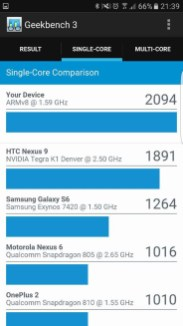 Samsung S7 Edge Review: Geekbench #2