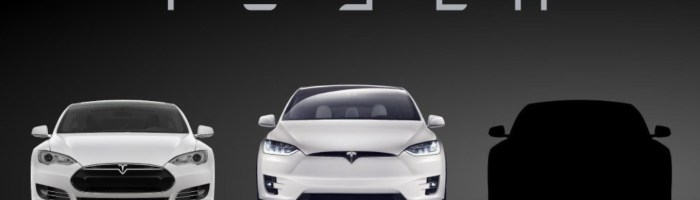 Tesla Model 3 va fi anuntat pe 31 martie