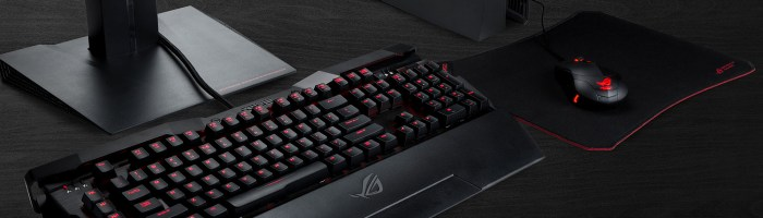 Asus a lansat tastatura mecanica ROG Horus GK2000