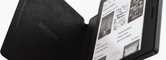 Amazon Kindle Oasis, mai subtire si mai usor