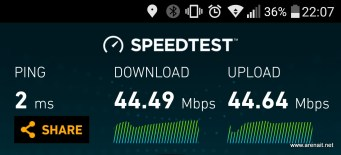 LG G5 - Speedtest - WiFi