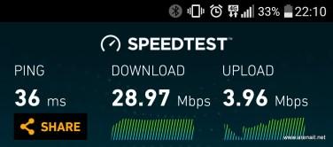LG G5 - Speedtest - 4G/LTE
