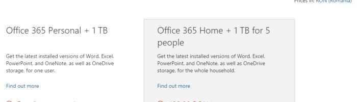 Cum sa obtii Office 365 si 1 TB OneDrive gratuit pentru un an