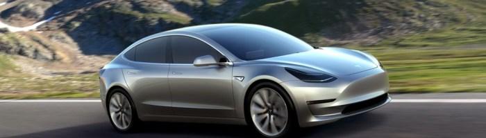 Tesla Model 3 anuntat: lansare in 2017, 350 km autonomie