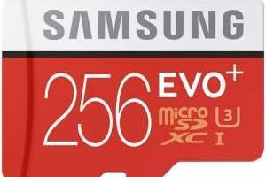 Samsung a anuntat un card microSD de 256 GB