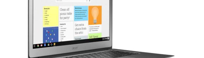 ASUS Chromebook la 300 de dolari