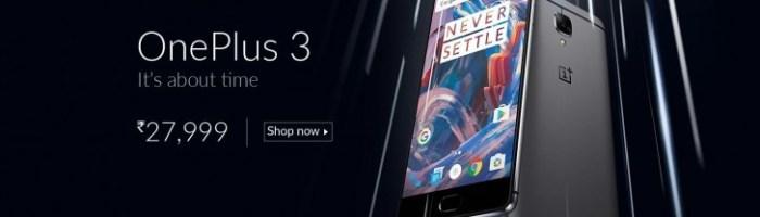OnePlus 3 a fost prezentat oficial