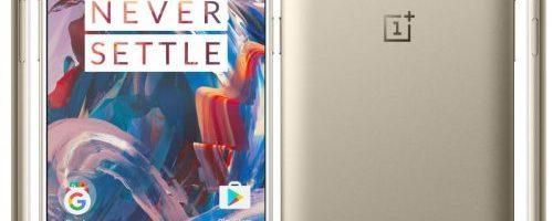 OnePlus 3 este lansat si in varianta Soft Gold