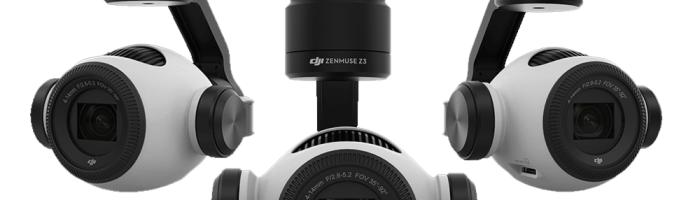 Zenmuse Z3 de la DJI este prima drona cu camera ce ofera zoom optic