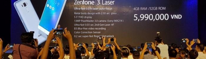 Zenfone 3 Laser si Zenfone 3 Max au fost anuntate