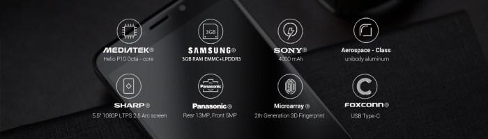 Umi Max - 140 de dolari pentru Helio P10, baterie de 4000 mAh si senzor de amprenta