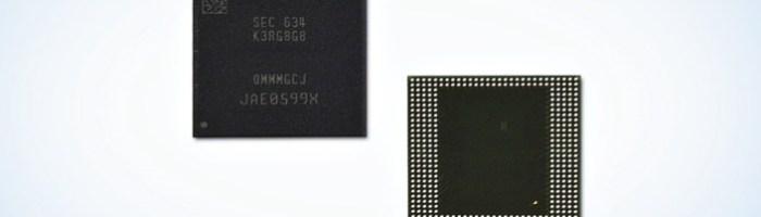 Samsung a dezvaluit primul chip de memorie LPDDR4 cu capacitate de 8 GB