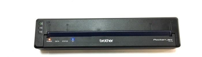 Imprimanta portabila Brother PJ-773 (scurt review)