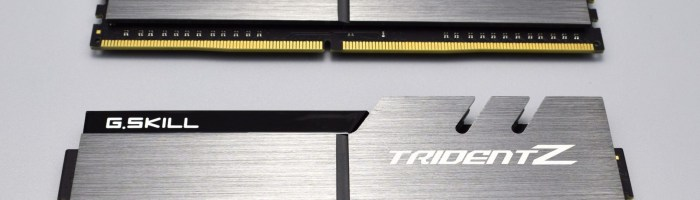 Kit memorie RAM DDR4 G.SKILL TridentZ F4-3200 CL15 16 GB (scurt review)