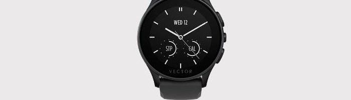 Oferta zilei: smartwatch Vector Luna negru si curea silicon de la 850 lei